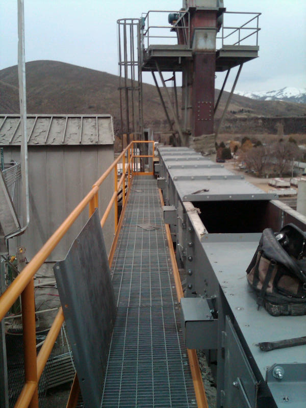 Drag Chain Conveyors Portland Project Transco Nw