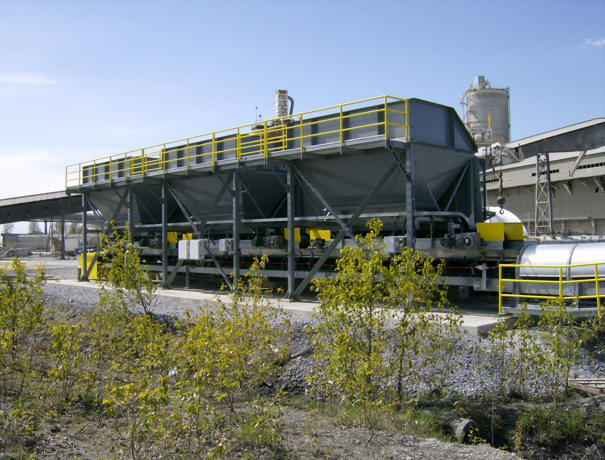 Lafarge-B.C. Cement-Cold Feed System
